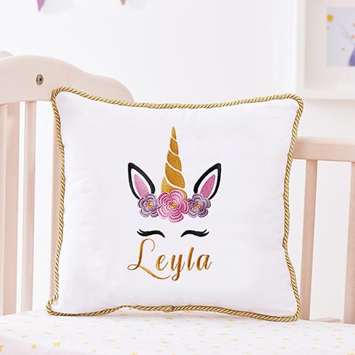 İsimli Bebek Takı Yastıkları